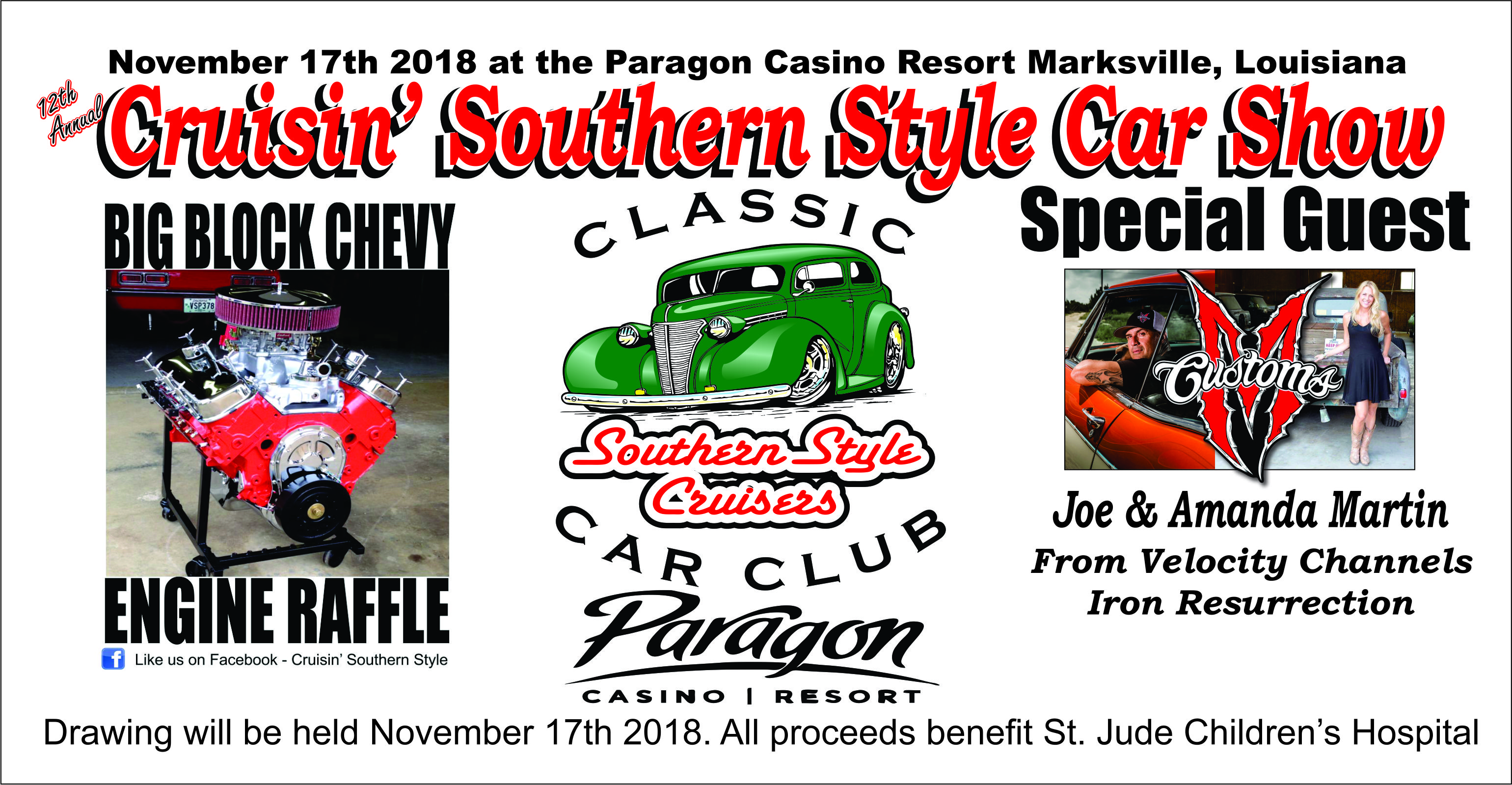 Cruisin Southern Style - Paragon casino car show 2018